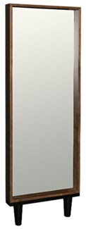 Freud Mirror, Dark Walnut