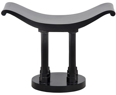 Kahl Stool, Hand Rubbed Black