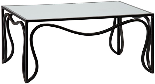 Contrary Coffee Table, Metal