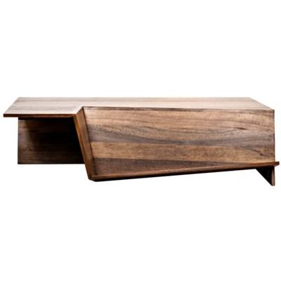 Prisma Coffee Table, Dark Walnut