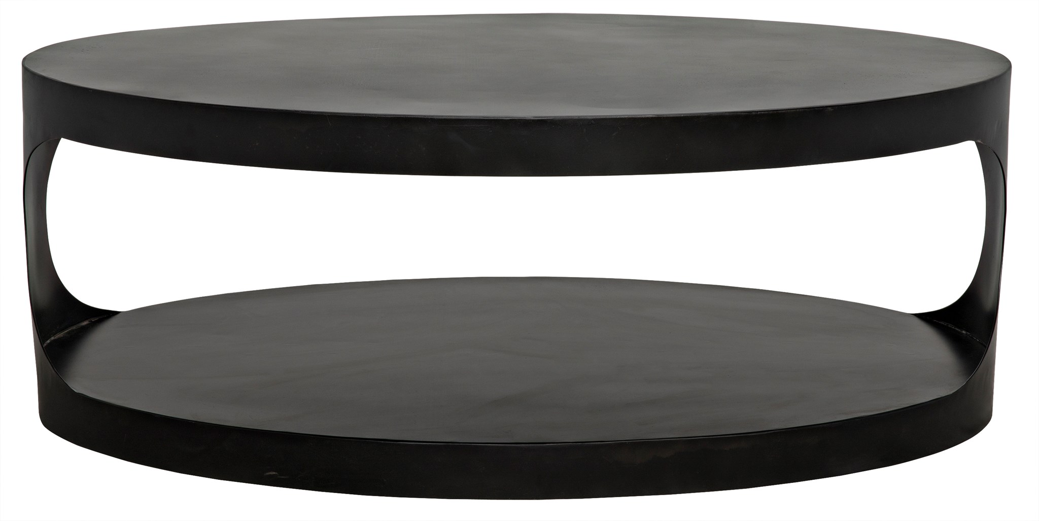 QS Eclipse Oval Coffee Table cocktail tables noir
