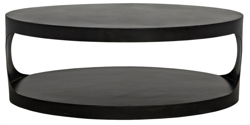 QS Eclipse Oval Coffee Table
