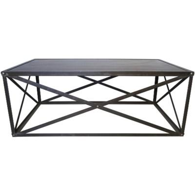 Brussels Coffee Table, Metal