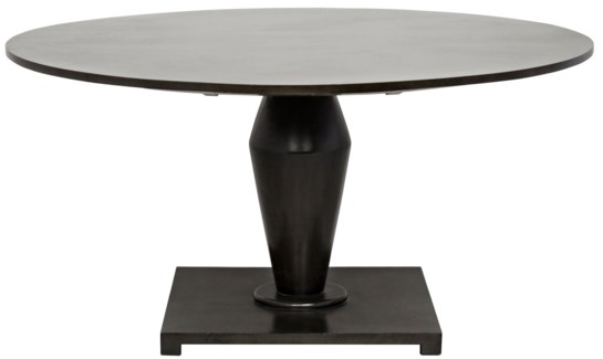 Calida Dining Table, Pale