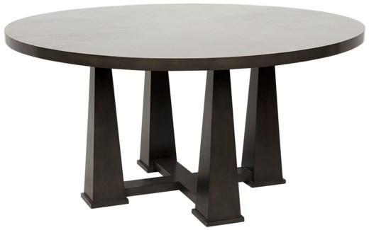Pillar Dining Table, Pale
