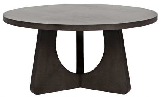 "Nobuko Dining Table, 60"", Pale"