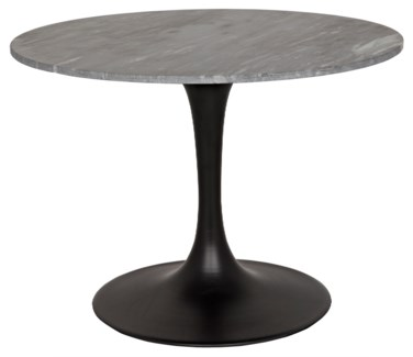 "Laredo 40"" Bistro Table, Metal and Stone"