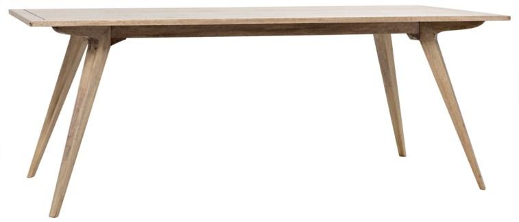 Rako Dining Table, Washed Walnut