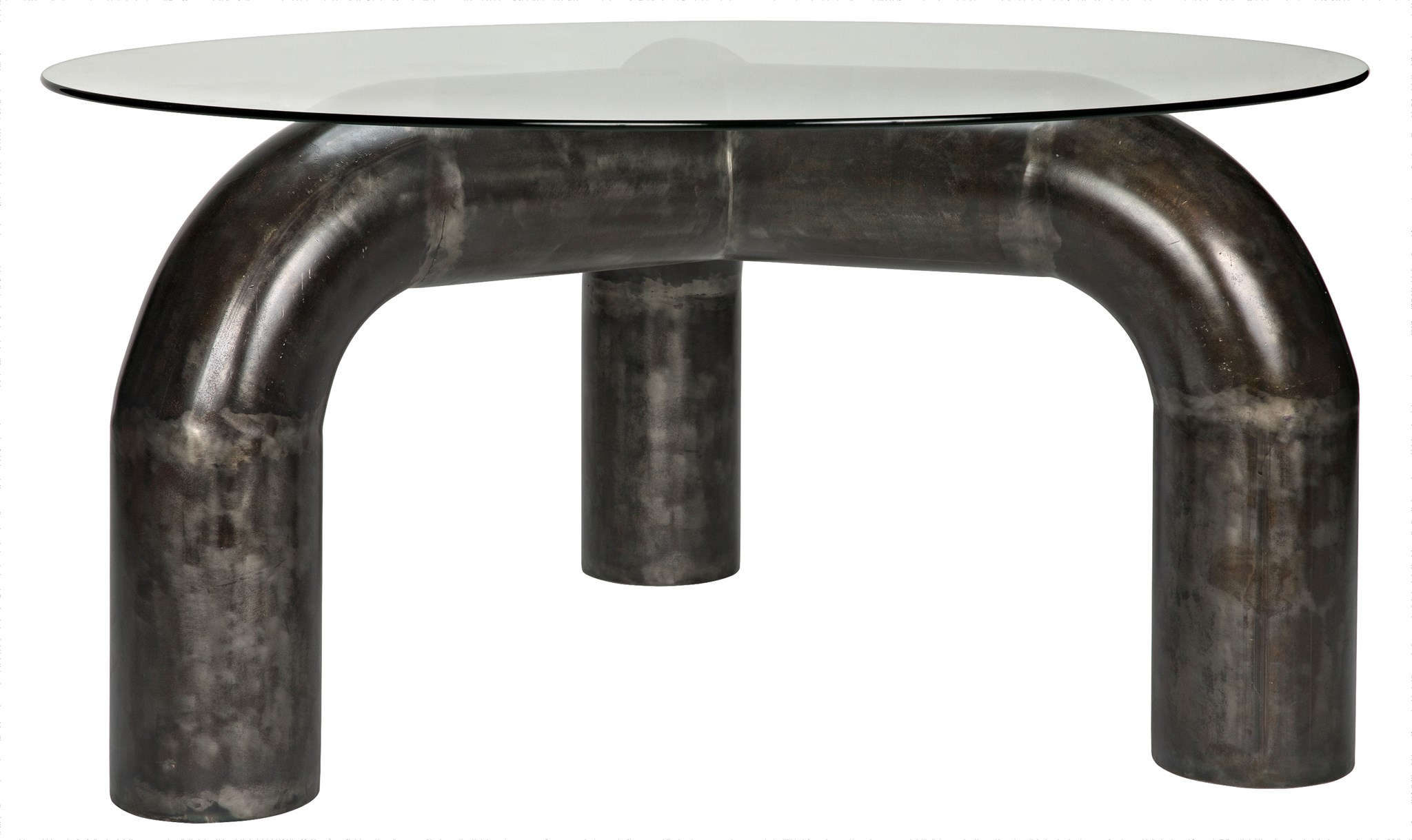 Parsifal Dining Table W/Metal Base