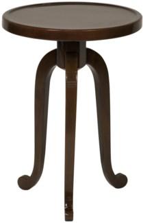 Ellie Side Table, D. Brown