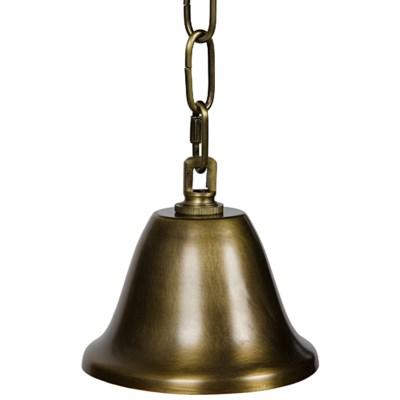 Alchemy Chandelier, Antique Brass