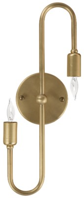 Rossi Sconce, Antique Brass