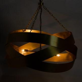 QS Orion Pendant, Antique Brass