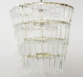 Bruna Chandelier, Antique Brass