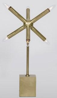 Piedmont Table Lamp, Antique Brass