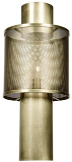 Thana Table Lamp, Antique Brass
