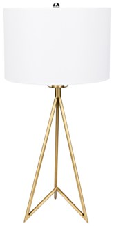 Jack Table Lamp, Antique Brass