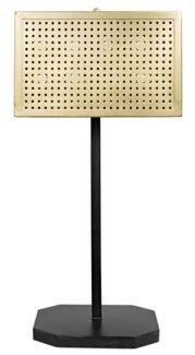 Lounge Lamp, Antique Brass Finish