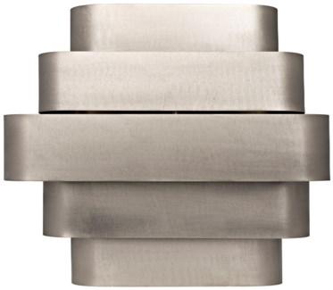 Baas Sconce, Antique Silver