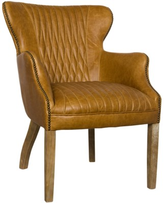 Disel Single Chair with Bugati Seaming