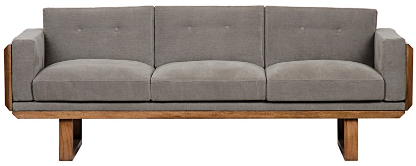 Alfie Sofa, Dark Walnut