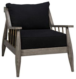 Strasbourg Chair, Distressed Grey