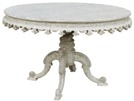 Fest Table, White Weathered