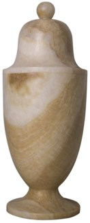 QS Onyx Vessel, Round Top