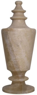 QS Onyx Vessel, Ridged Top