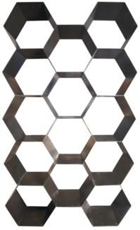 QS Bee Hive Bookcase, Metal