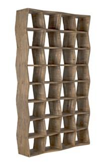 QS Zigzag Bookcase