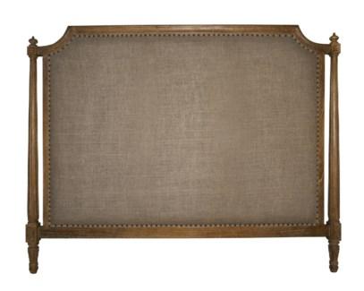 Isabelle Headboard, Eastern King, Grey Wash