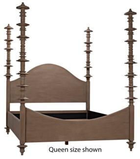 Ferrett Bed, CA King, Weathered