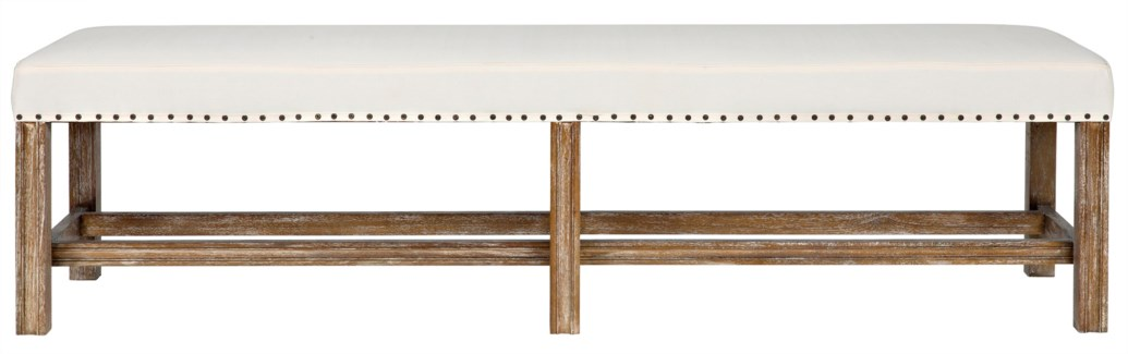 QS Sweden Bench, Grey Wash