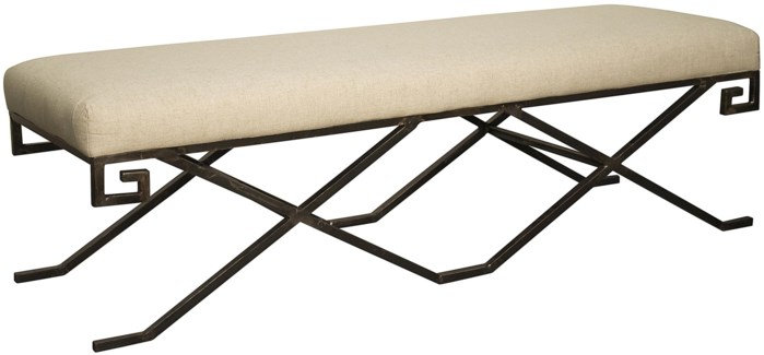Ming Bench, Metal