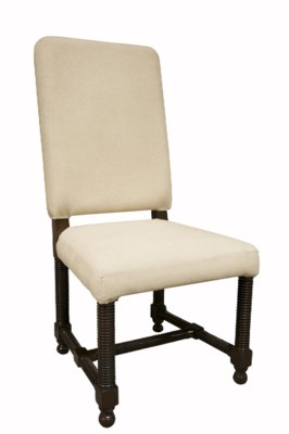Spanish Chair, Distressed Brown