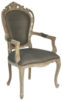 Orleon Arm Chair, Weathered