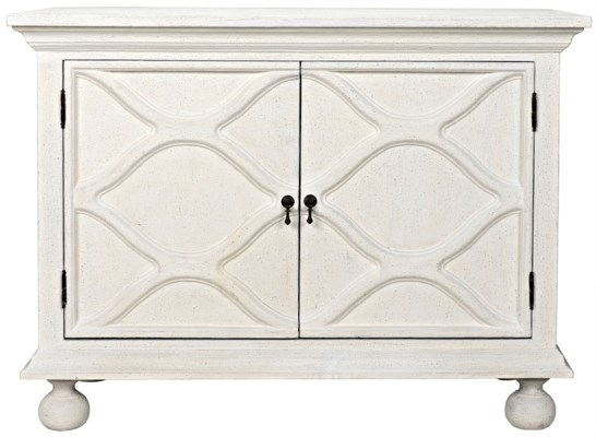 Comles Sideboard, White Weathered