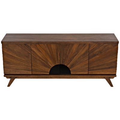 Sunset Console, Dark Walnut