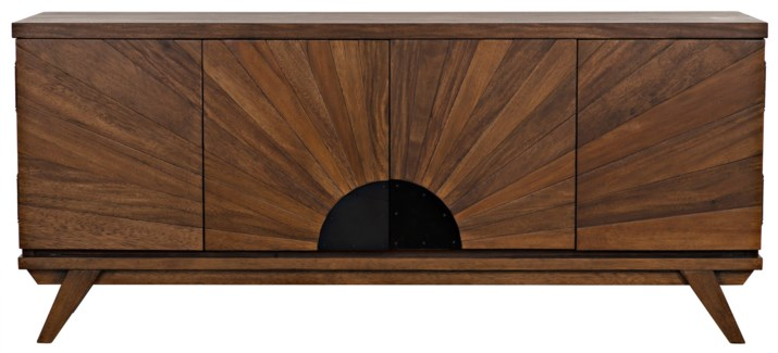 QS Sunset Console, Dark Walnut