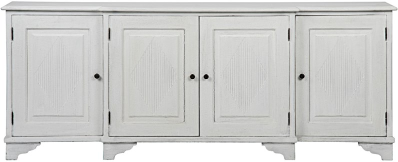 QS Ellington Sideboard, White Weathered
