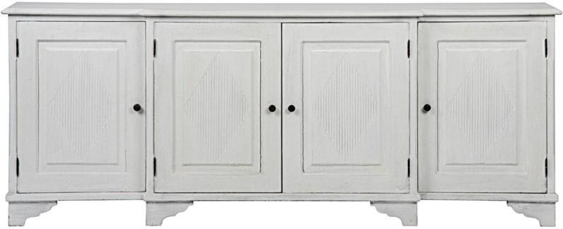 Ellington Sideboard, White Weathered