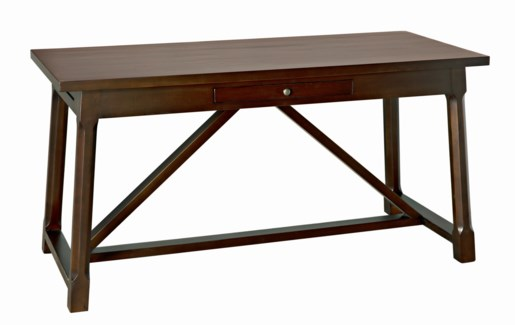 Sutton Desk, Distressed Brown