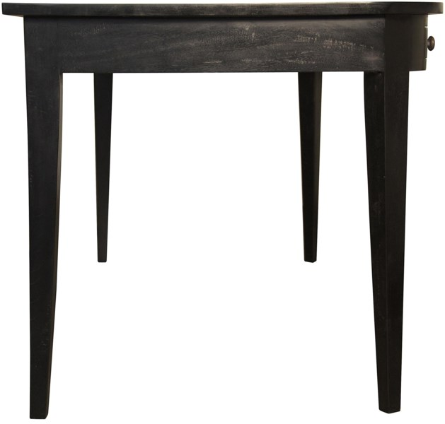 Linus Desk, Hand Rubbed Black
