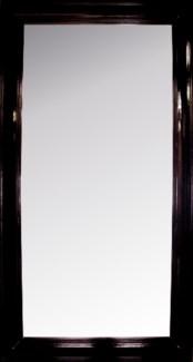 Colonial Floor Mirror, Large, Distressed Brown