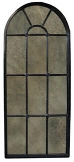 Door Mirror, Hand Rubbed Black