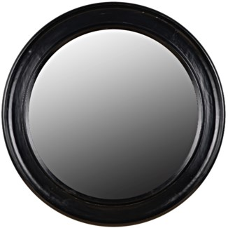 Sutton Mirror, Hand Rubbed Black