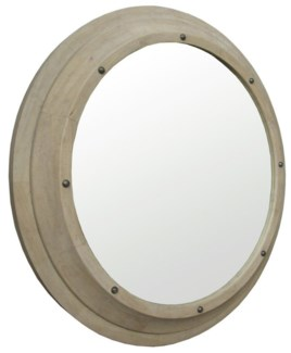 Porthole Mirror, Large