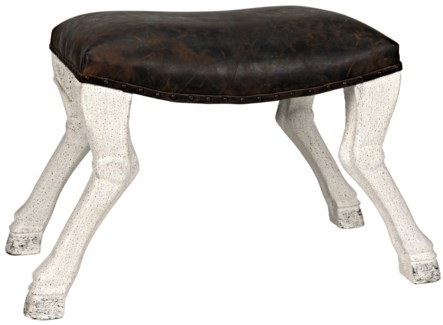 QS Claw Leg Saddle Stool