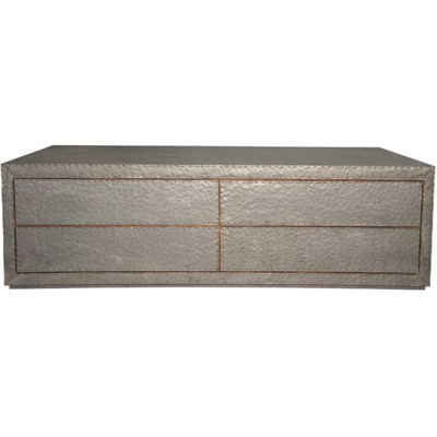 QS Metal Coffee Table with 4 Drawers